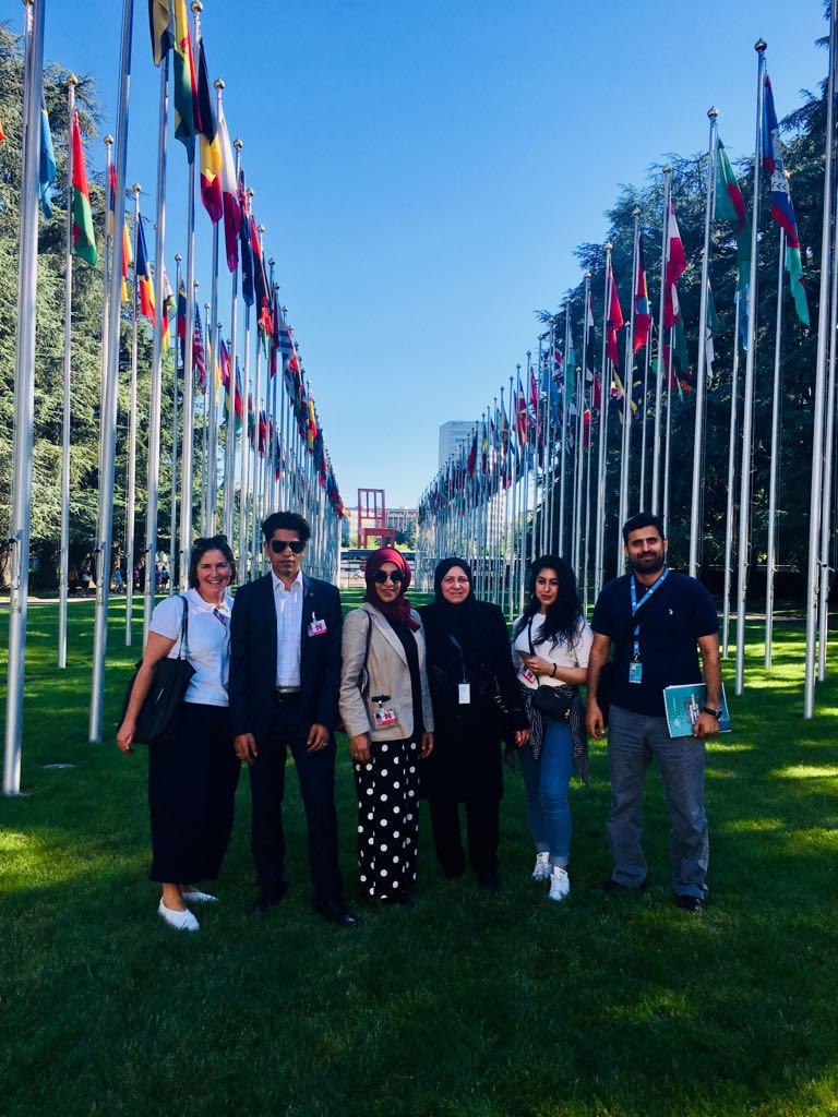 Al-Kawthar participates in UNITED NATIONS GENEVA