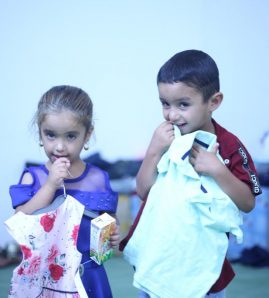 Eid gifts received by Orphans