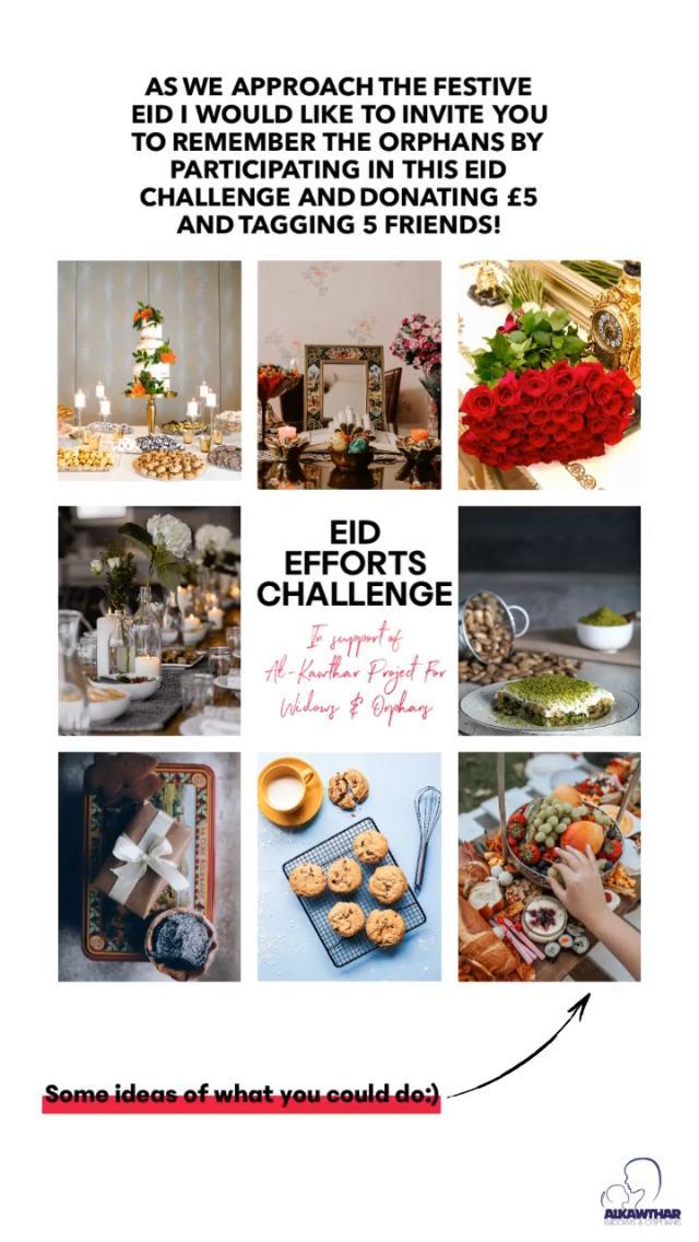 Eid Gifts Challenge