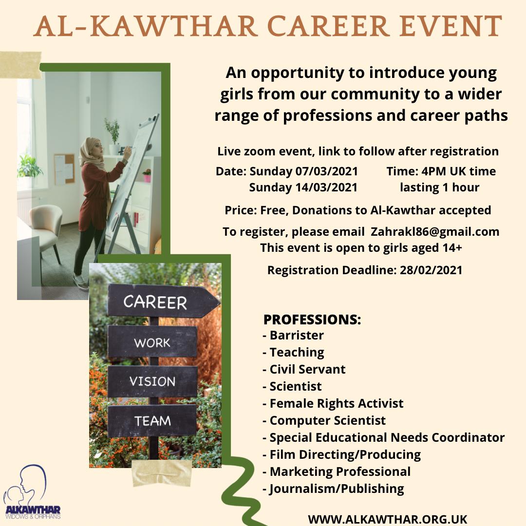 AL-KAWTHAR CAREER EVENT