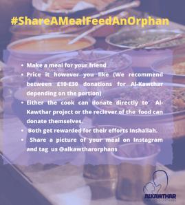 Share a Meal: Feed an Orphan
