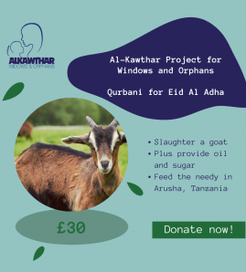 Eid-ul-Adha Qurbaani