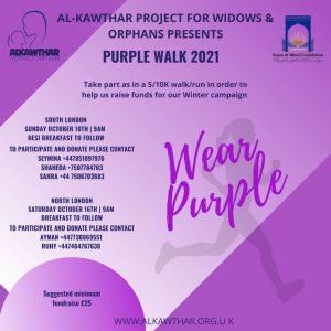 Purple walk 21